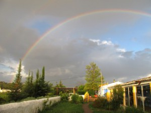 Regenbogen in Portugal