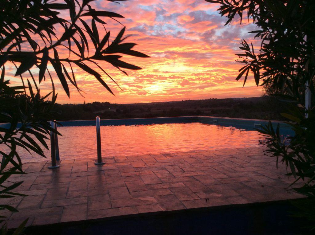 Sonnenuntergang in Portugal